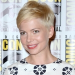 Michelle Williams Cabelo corte pixie