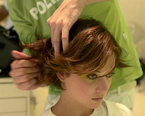 reparo de cabelos curtos repicados